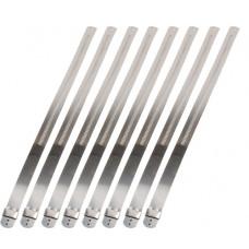 """Stainless Steel Locking Ties 8"""" (8 per pack)"""