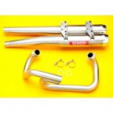 Wildcat 1000 Dual Exhaust