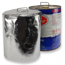 Reflective Fuel Can Cover 54 Gallon Metal Round Drum