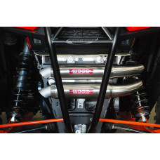 RZR XP1000 Stainless Steel Dual Exhaust